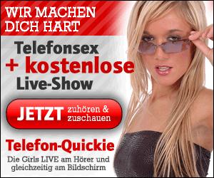 Telefonsex mit kostenloser Liveshow
